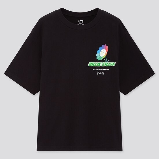 Billie Eilish X Takashi Murakami Logo T-Shirt (Oversized)