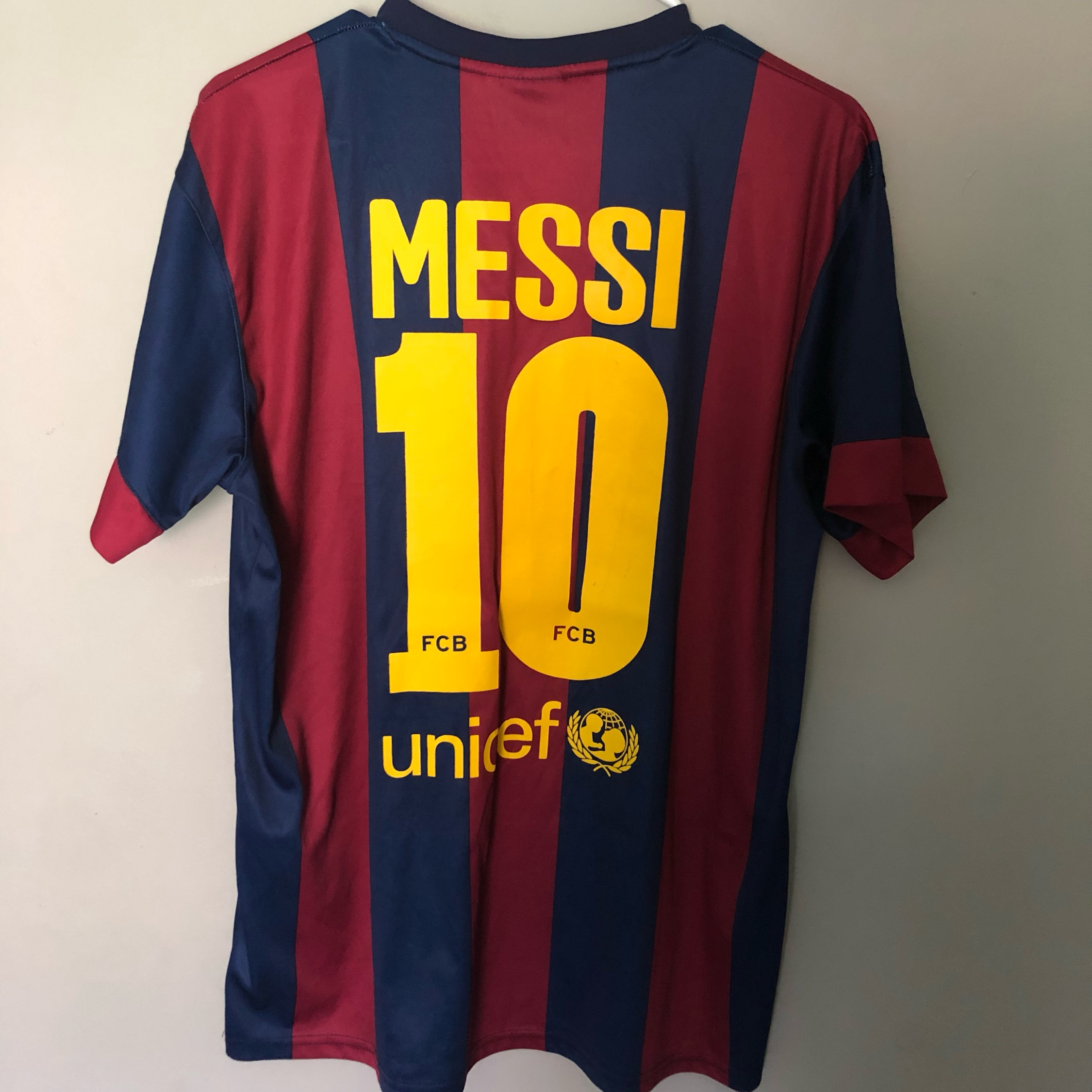 new product 87dbe 6c43c Fcb Lionel Messi Jersey
