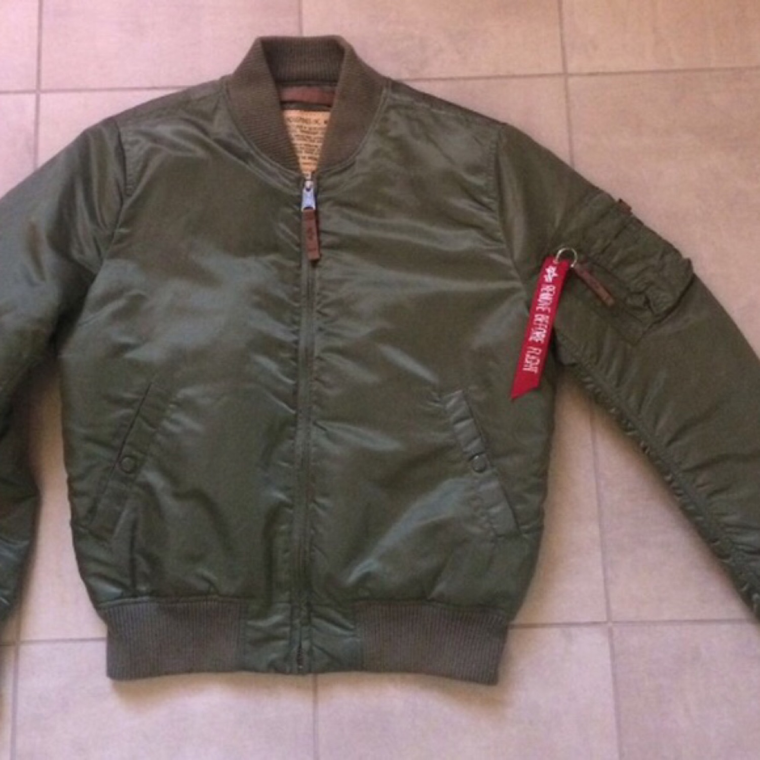 pretty nice d80ca 6a62f Bomber Alpha Industries M