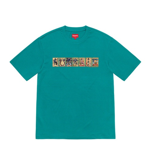 Supreme Ancient SS Top Teal