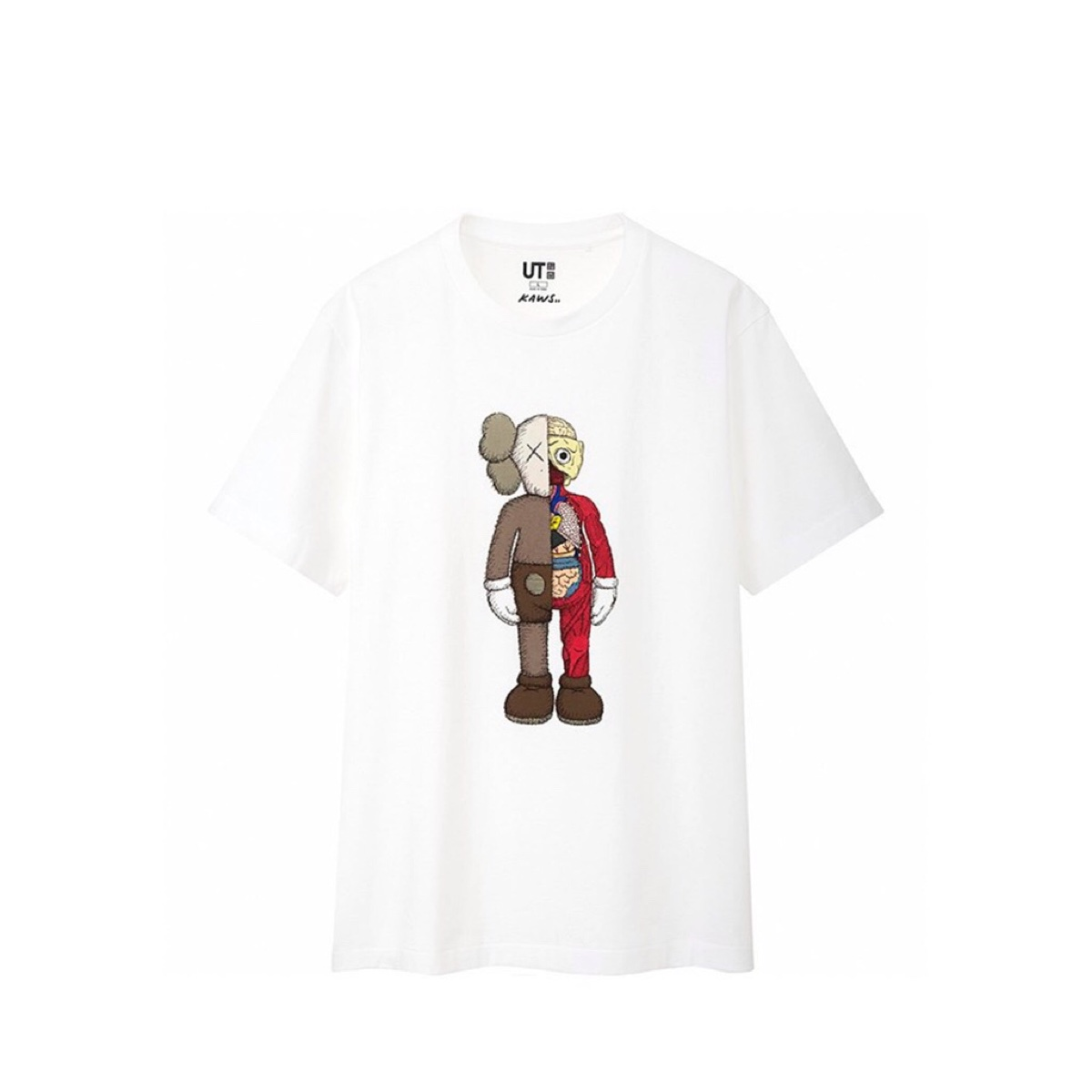 Kaws X Uniqlo Flayed