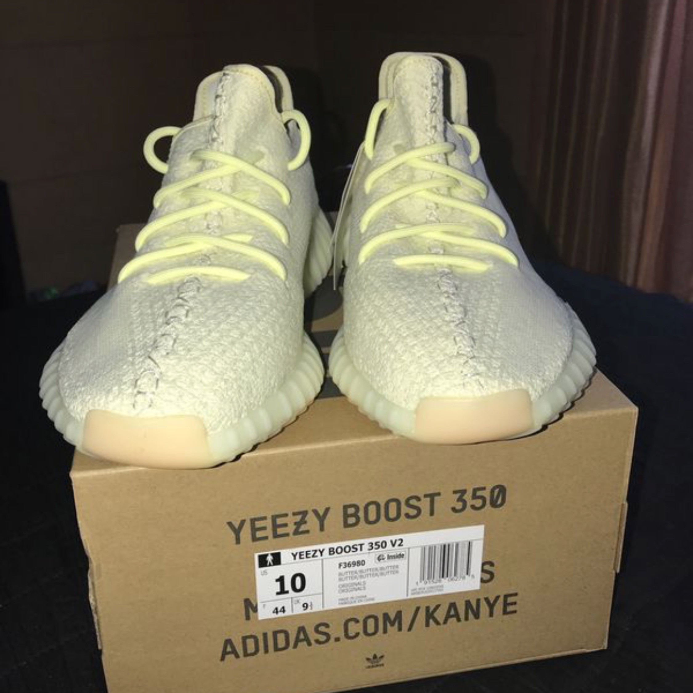 c15b851fc Adidas Kanye West Yeezy Boost 350 V2 Butter