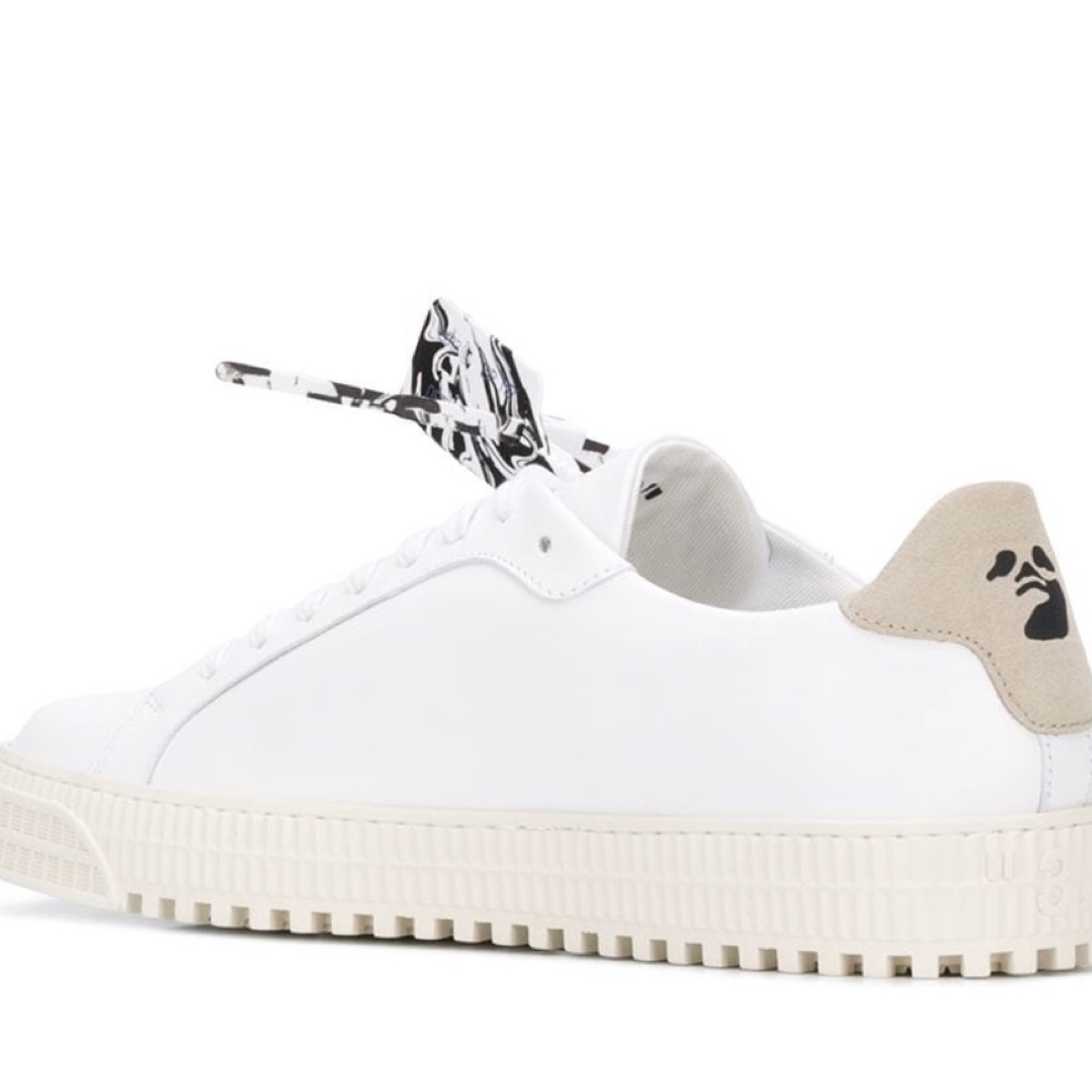 Off white Arrows Low-top Sneakers (Blue And White)