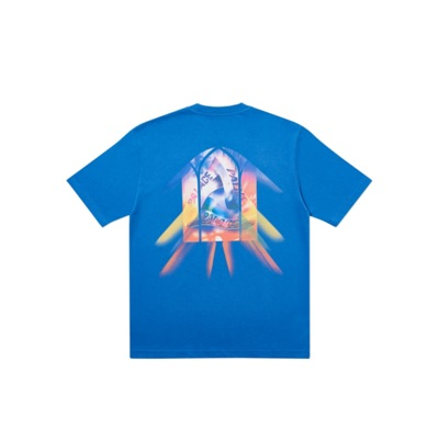 Palace I Don't Skate On A Sunday T-Shirt Blue
