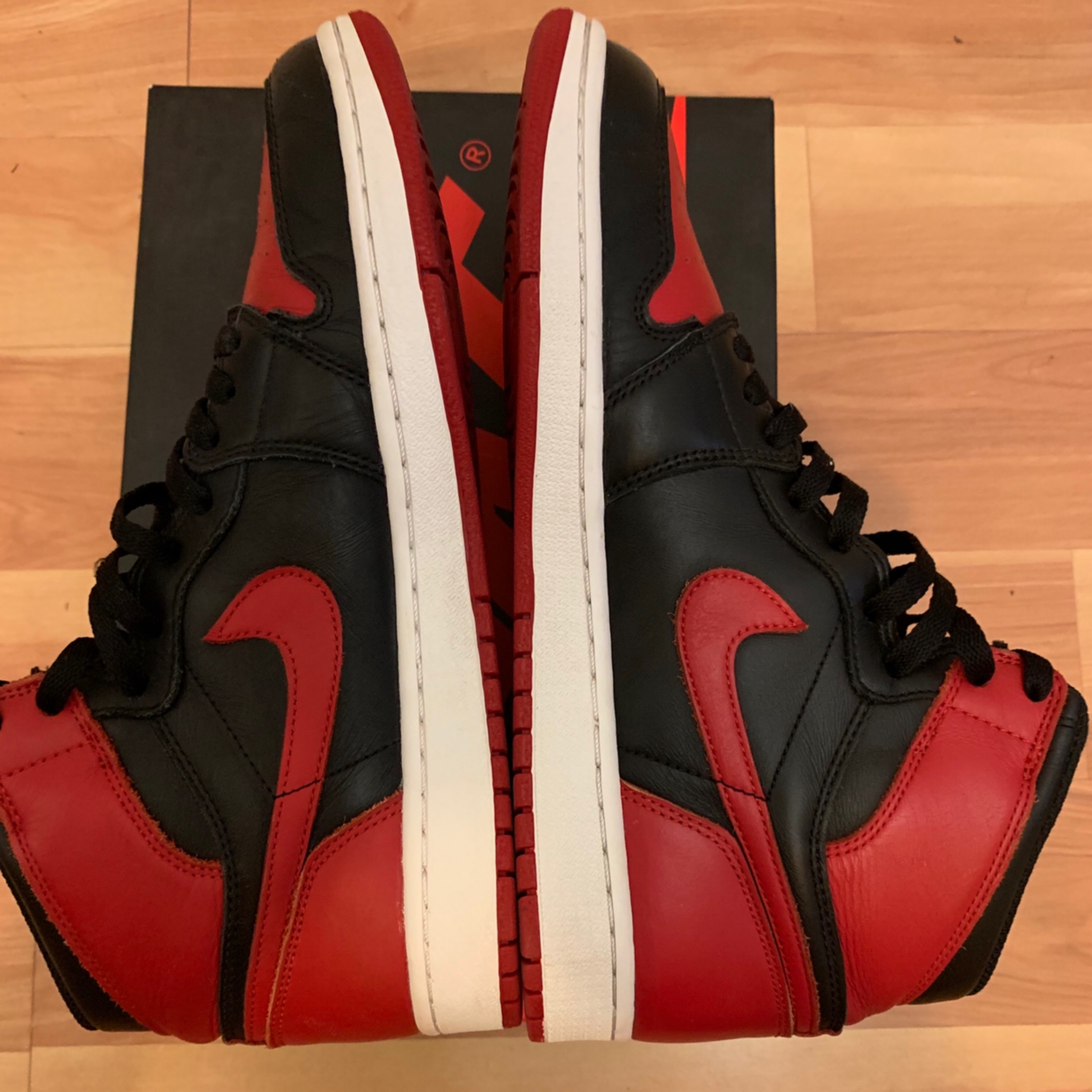 competitive price 8fcc1 b0a49 Air Jordan Og Bred 1 2013 Banned
