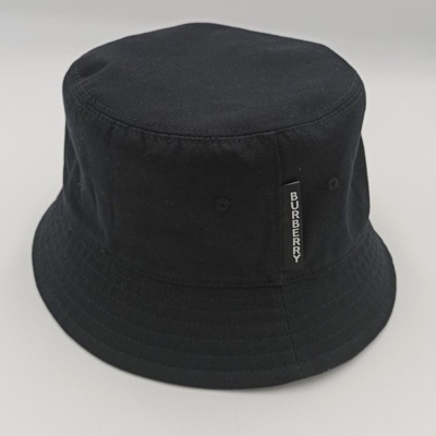Burberry Cotton Bucket Hat Black Size Xl