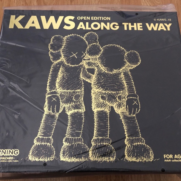 Kaws Along The Way (Black) Vinyl Figure