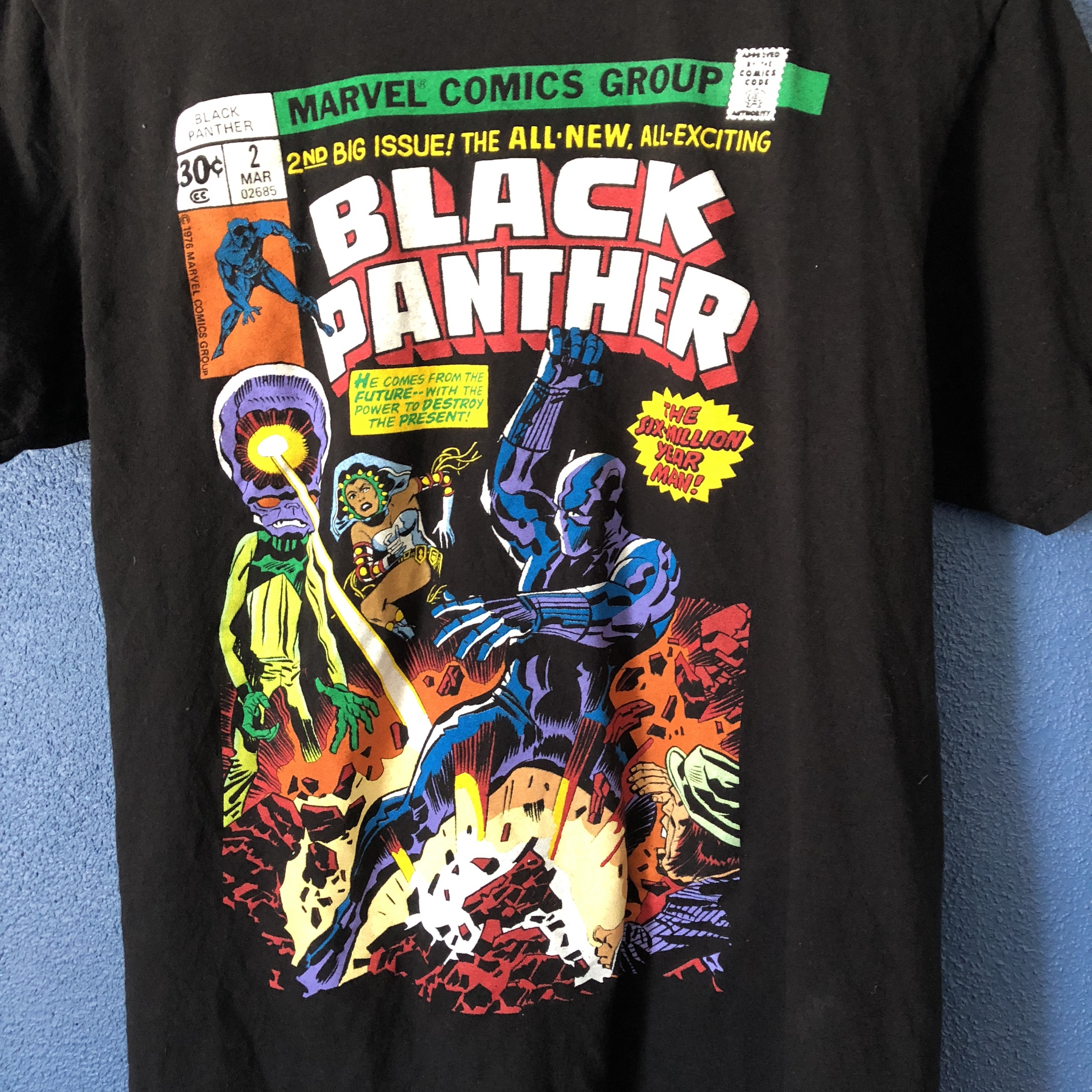 7fc3d97c9 Vintage Black Panther Tee And Adidas Stan Smith