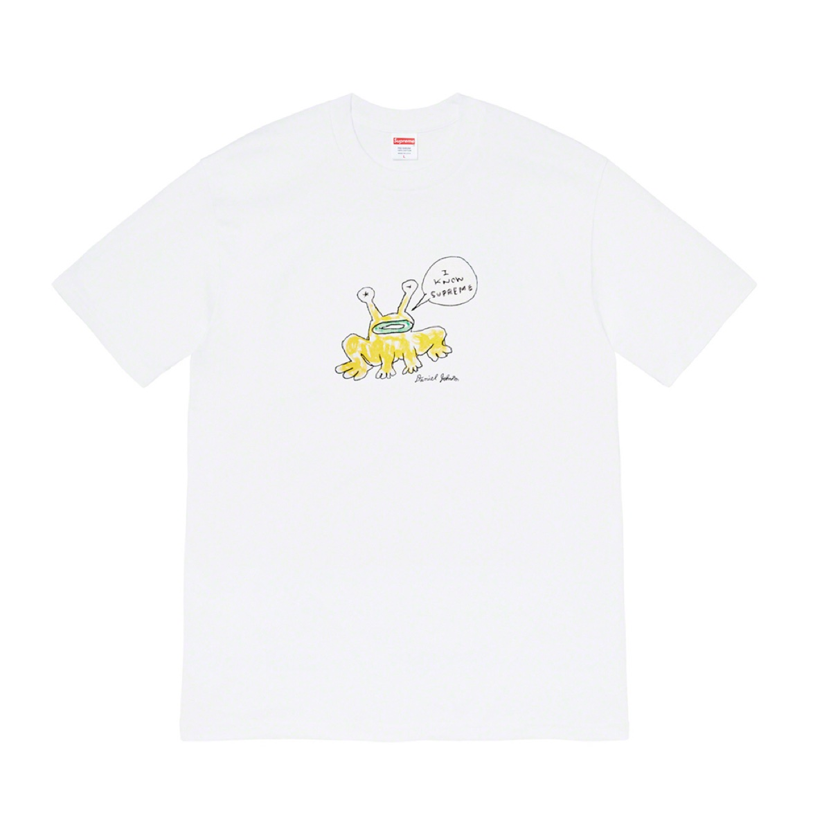 Supreme Daniel Johnston Frog Tee White