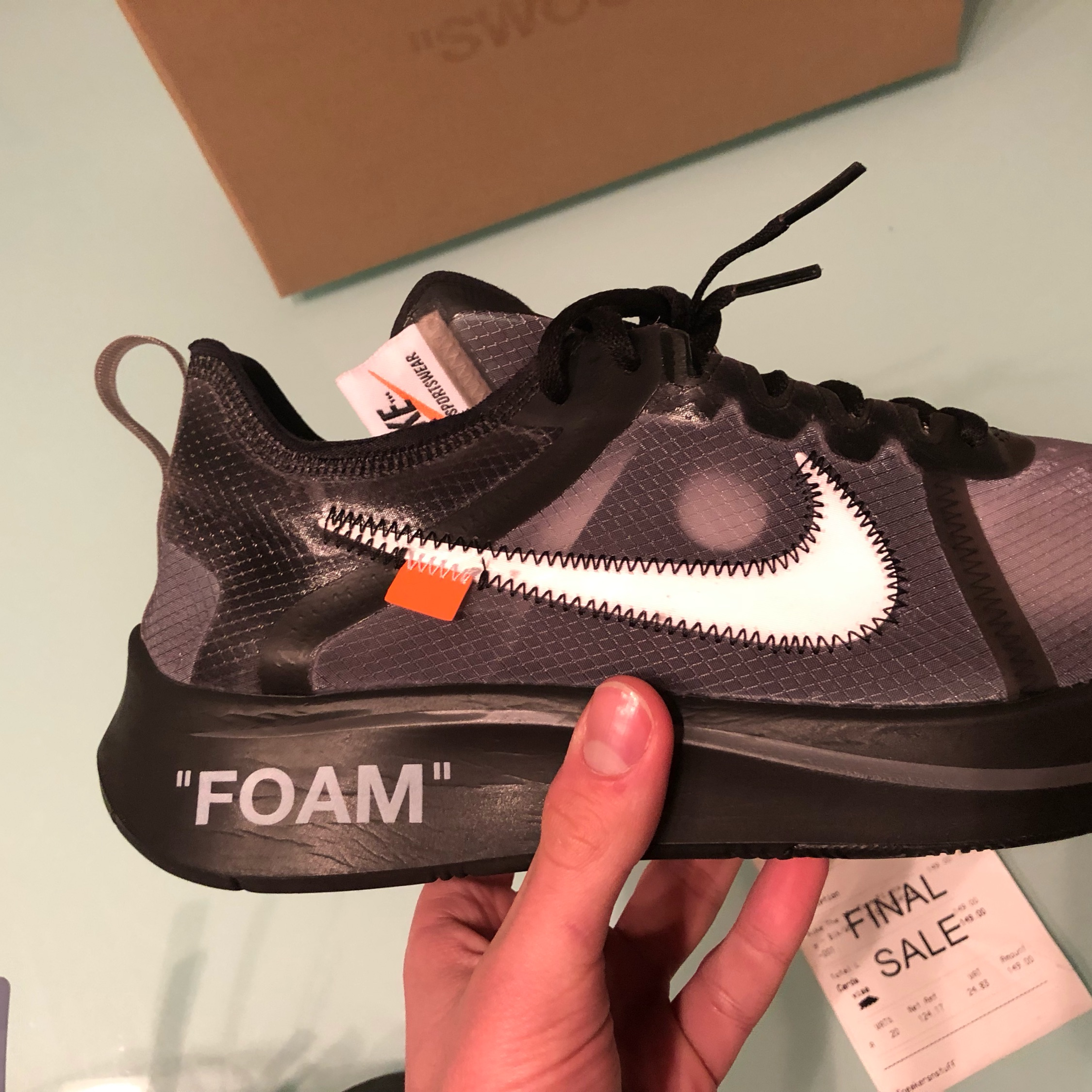 a520192f701 Nike Zoom Fly Off White Size 43
