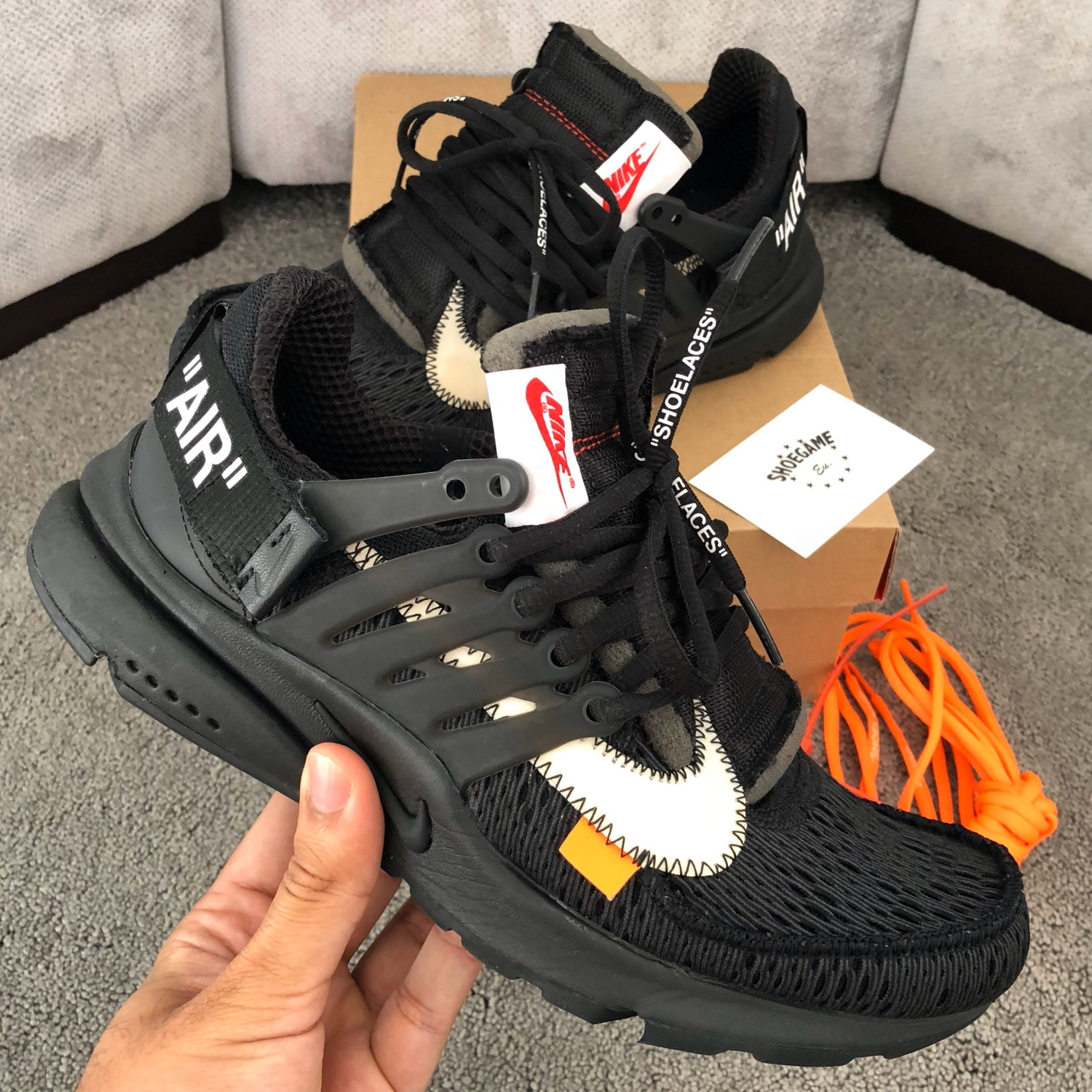 air presto off white
