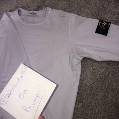 Stone Island Ice Blue Sweatshirt