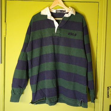 Polo Ralph Lauren Rugby Long Sleeve Quarter Button-up Large