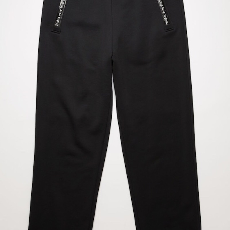 SS20 Acne Studios Technical Logo Sweatpants