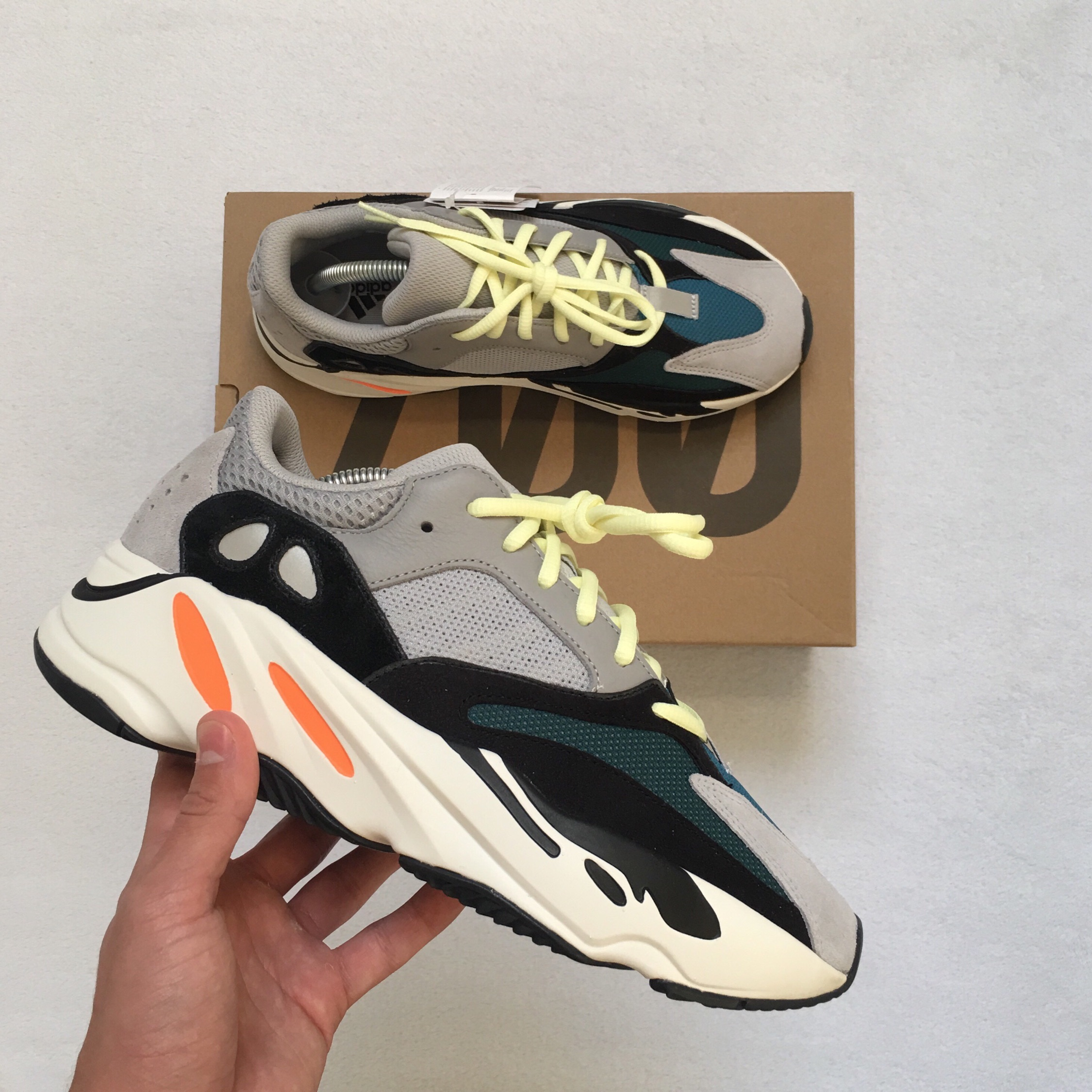 uk availability 6eac8 443c6 Adidas Yeezy Boost 700 Wave Runner Og
