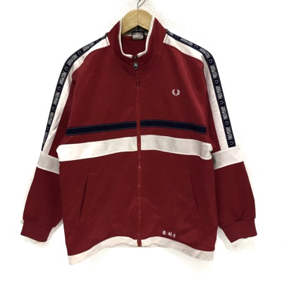 Vintage Fred Perry Side Tape Stripe Jacket Sweater