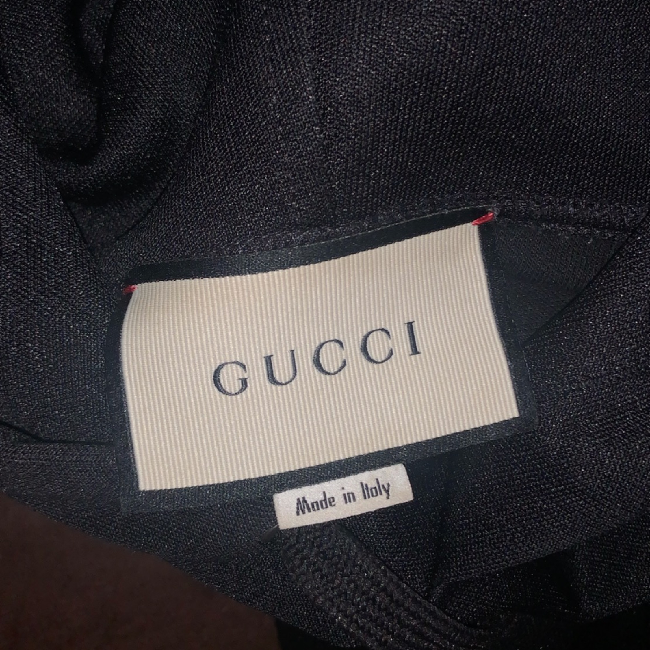 Gucci Technical Jersey Track Jacket