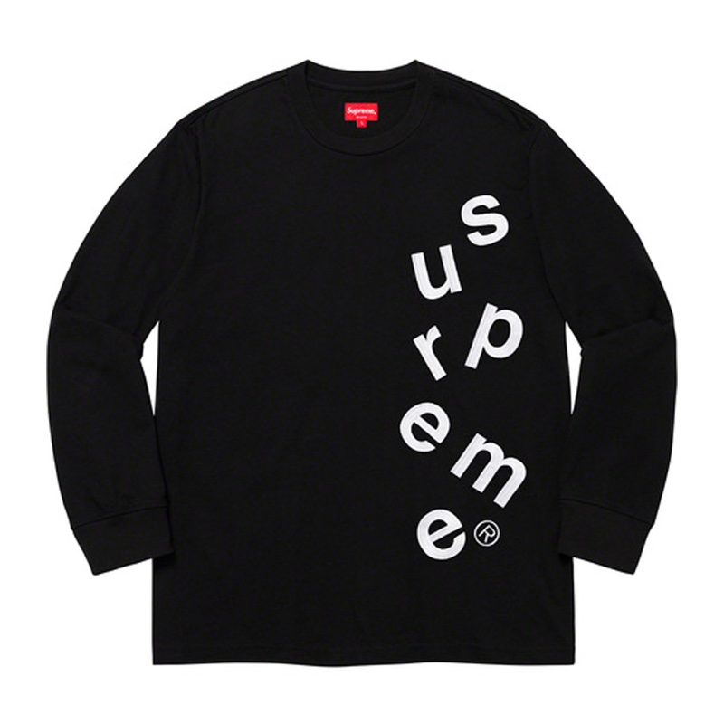 Supreme Scatter Logo LS Top Black