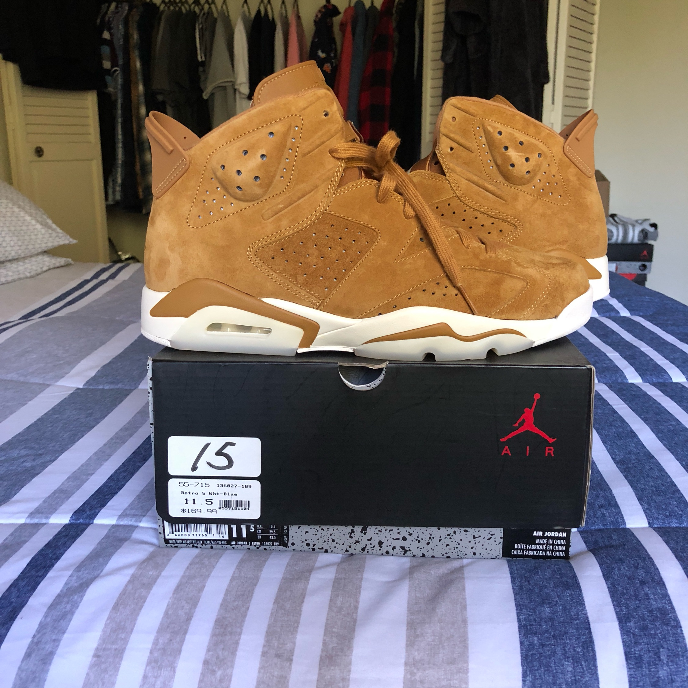 air jordan retro 6 golden