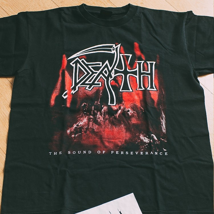 "Death ""Sound of Perseverance"" Vintage Late 90s / Early 00s Metal Band T-Shirt"