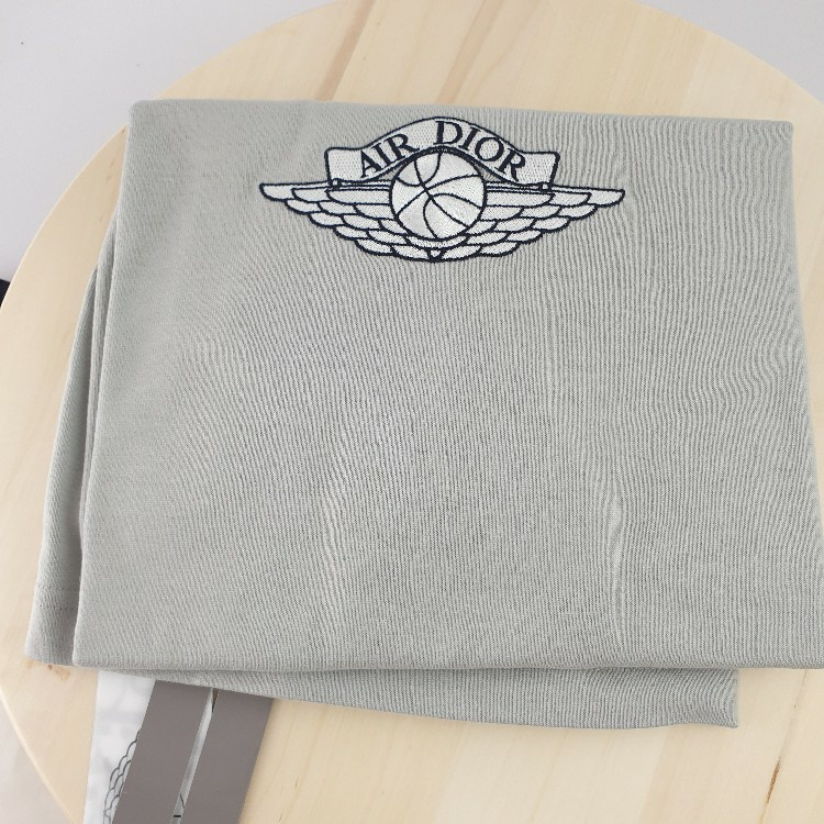 Dior X Jordan Wings T-Shirt Grey Size XL