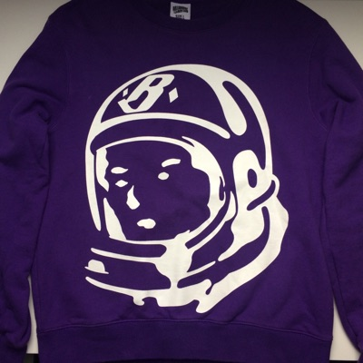 Billionaire Boys Club Bbc Purple Crewneck