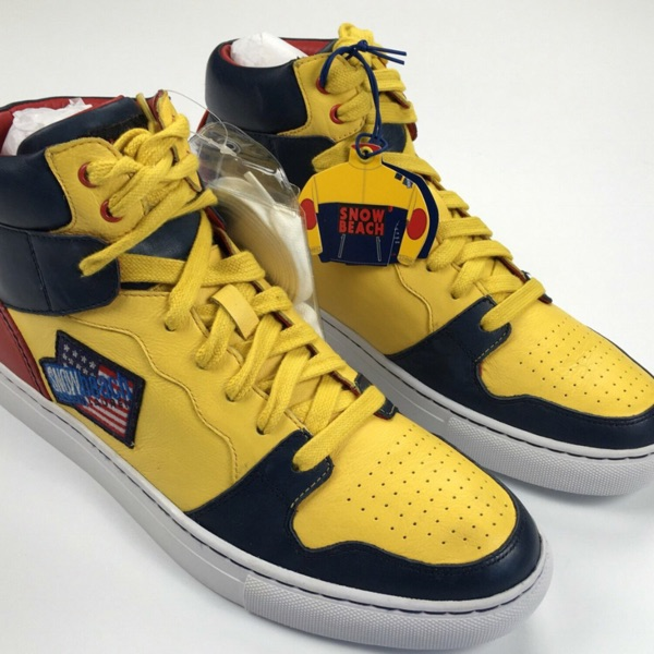 Polo Ralph Lauren Snow Beach High Top Sneakers