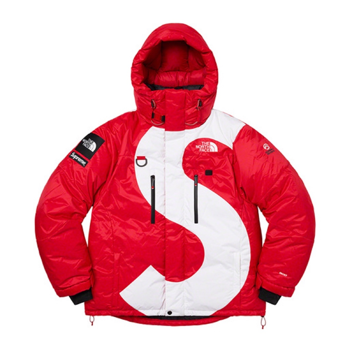 Supreme The North Face S Logo Himalayan Parka Red
