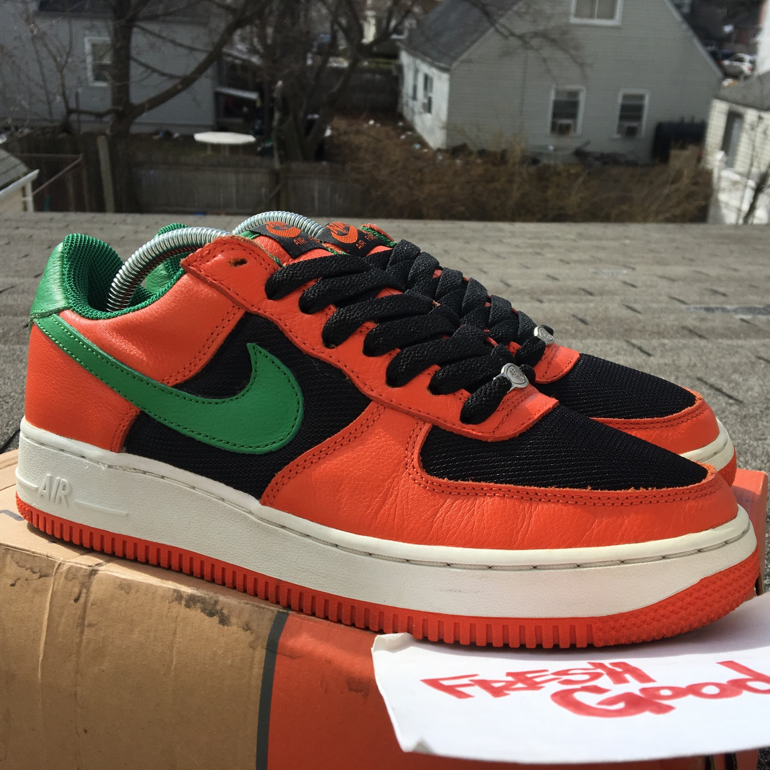 5f0e494d8d49 2003 Nike Air Force 1 Carnival 307334 831 Vnds 8.5