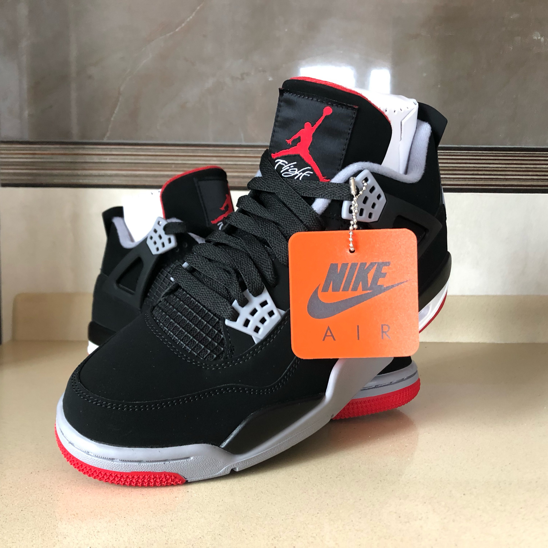 "new products 1968f aac51 Air Jordan 4 ""Bred"" 8.5 Us   42 Eu"