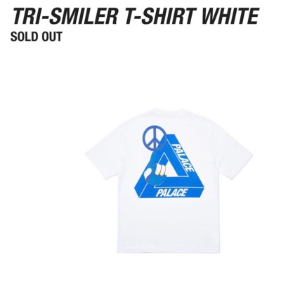 Palace Tri-Smiler T-Shirt White