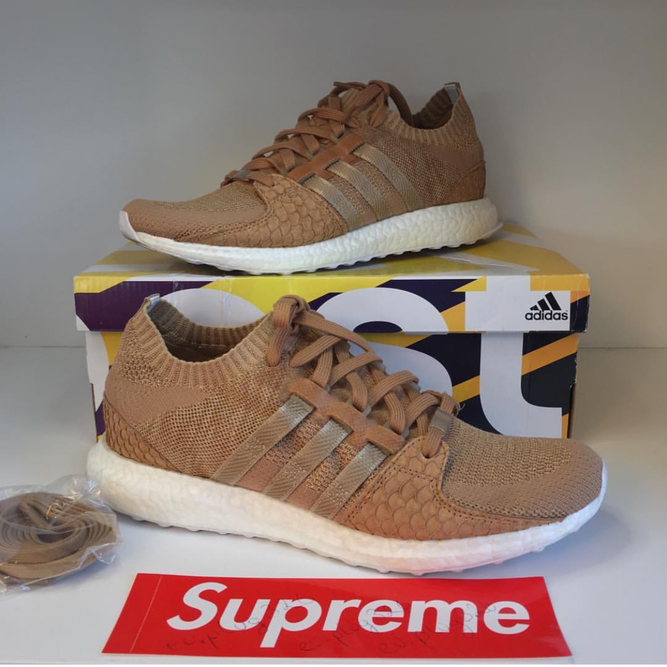 premium selection a8310 ab866 Adidas Eqt Support Ultra Push's T Brown