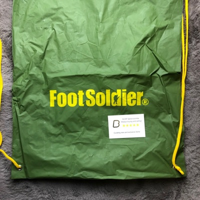 Bape Footsoldier Drawstring Bag Green