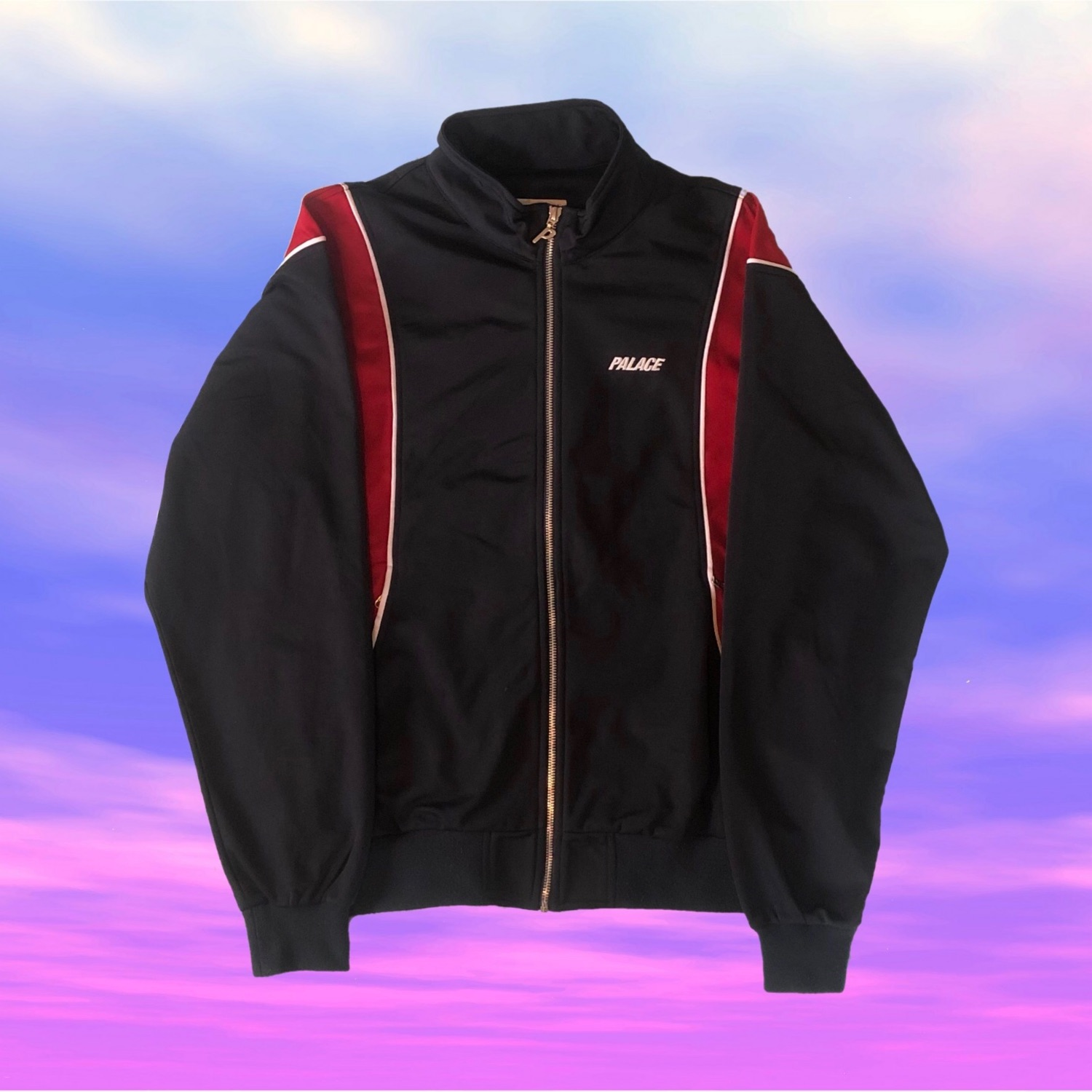 Palace Pipeline Track Top Navy