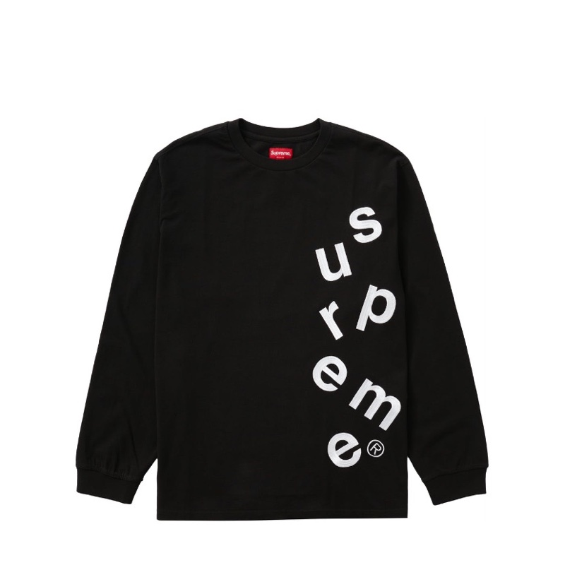 Supreme Scatter Logo L/S Top
