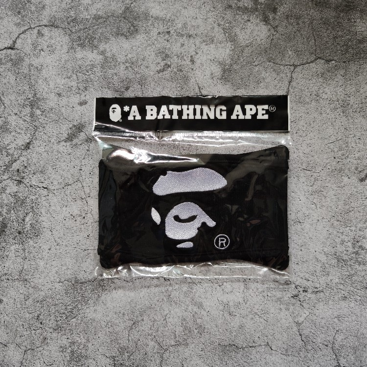 BAPE Ape Face Mask Black