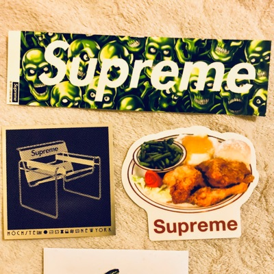 Supreme Stickers Ss18 Week 1