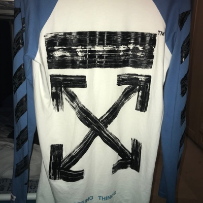 "Off-White 2013 Long Sleeve T-Shirt ""Main Label"""