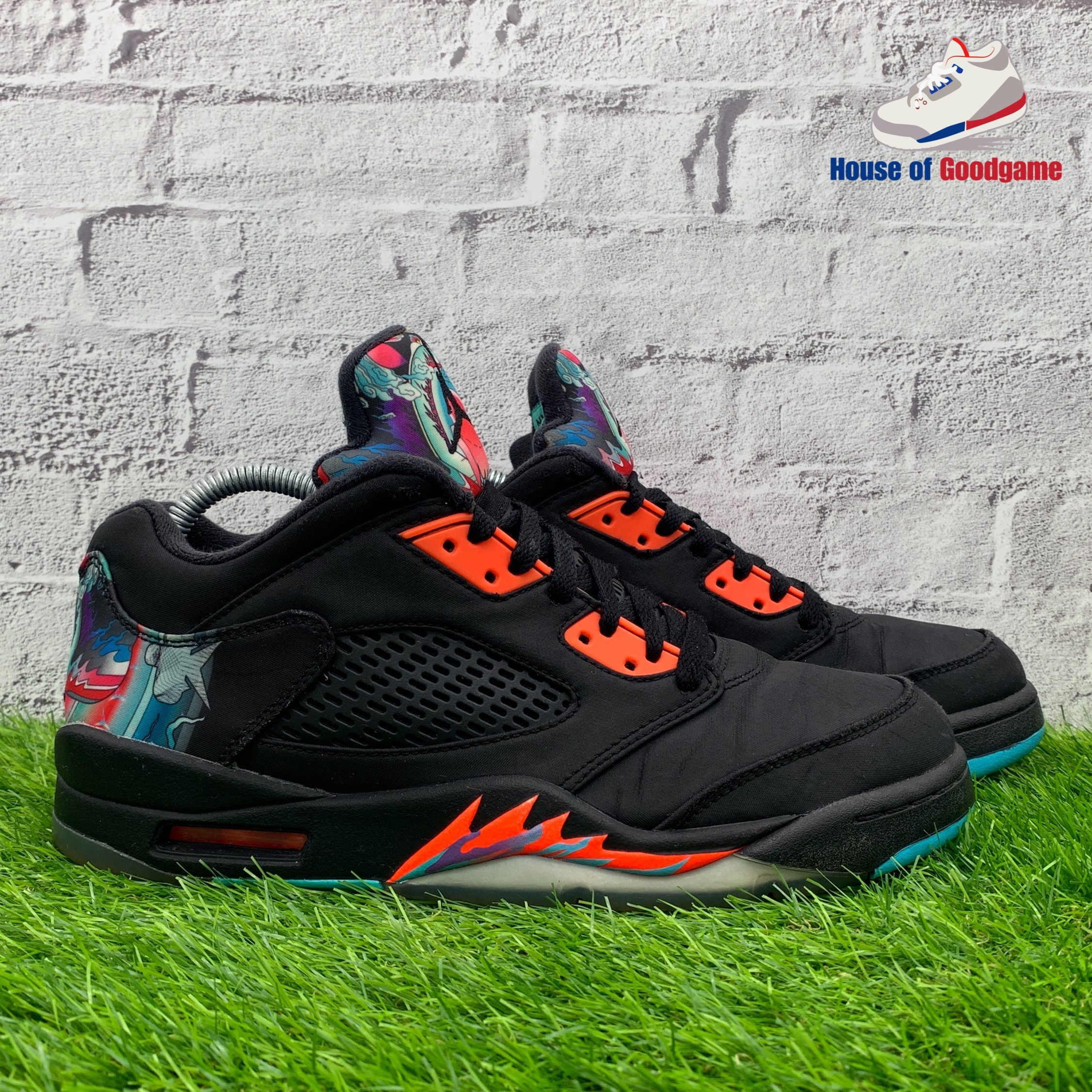 innovative design d8061 c9b6a Air Jordan 5 Retro Low 'Chinese New Year'