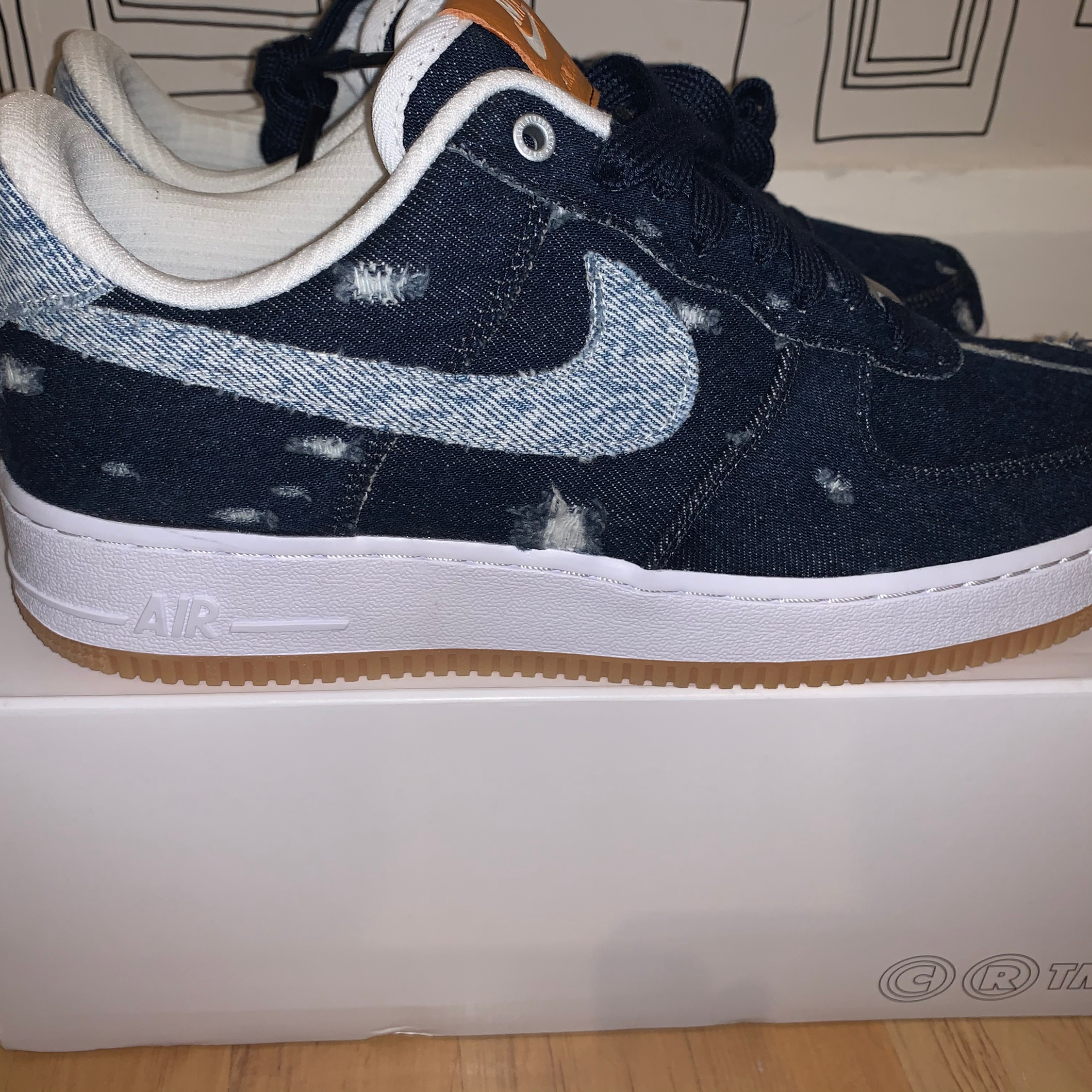 Air Force 1 X Levis Customs