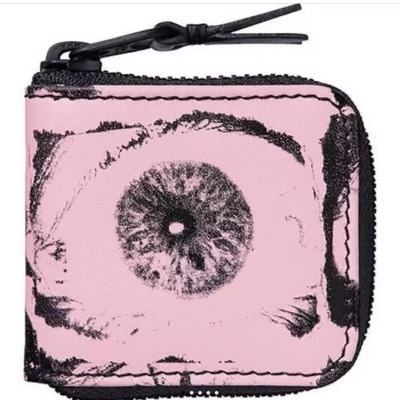 Supreme X Comme Des Garcons Eyes Coin Pouch Pink