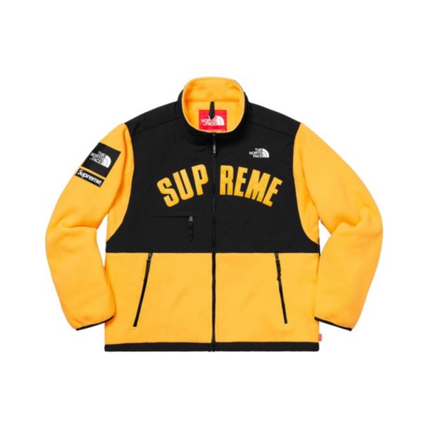 Supreme/The North Face Arc Logo Fleece - Yellow