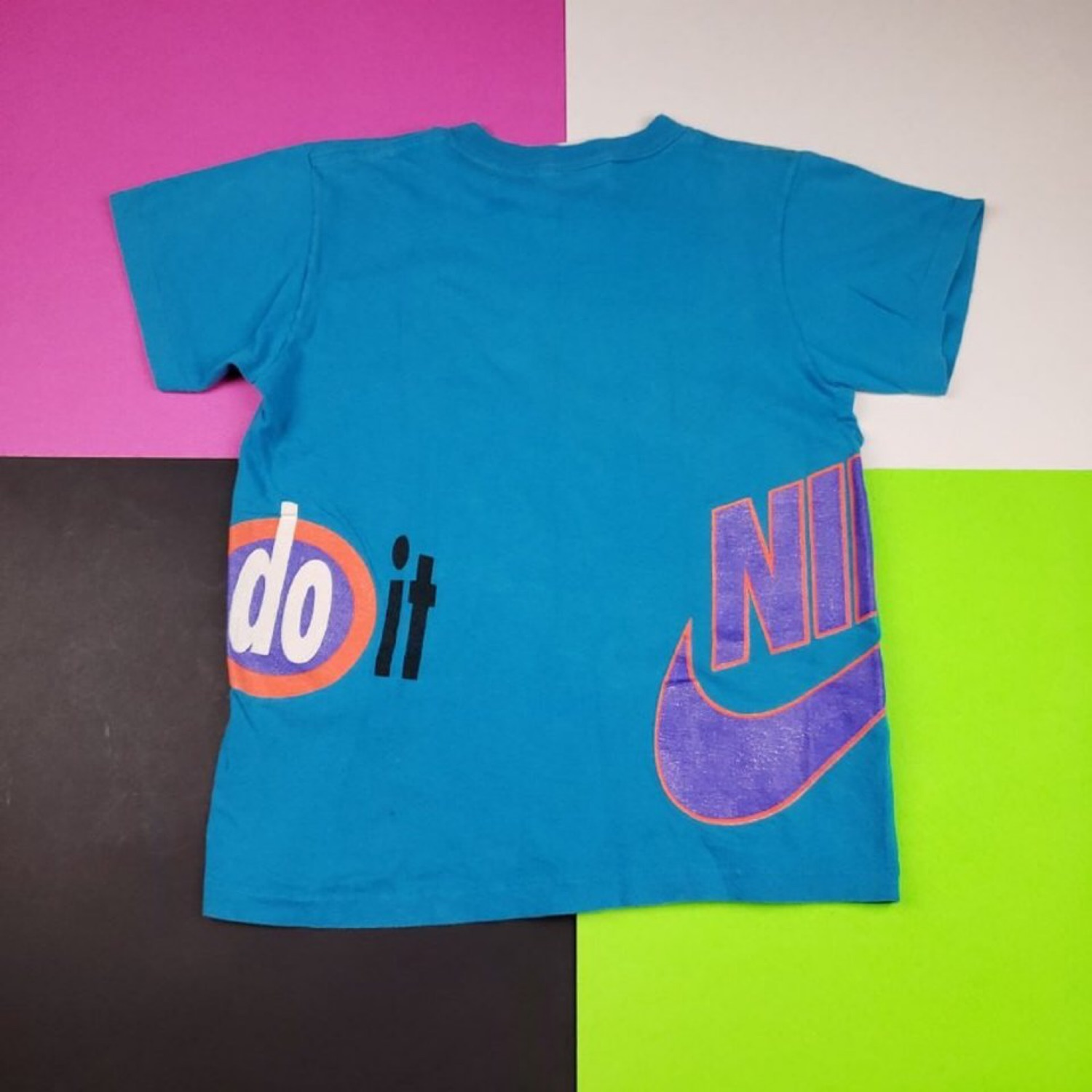 c1bcb50997a70 Rare Vintage 80'S Nike 'Just Do It' Tee