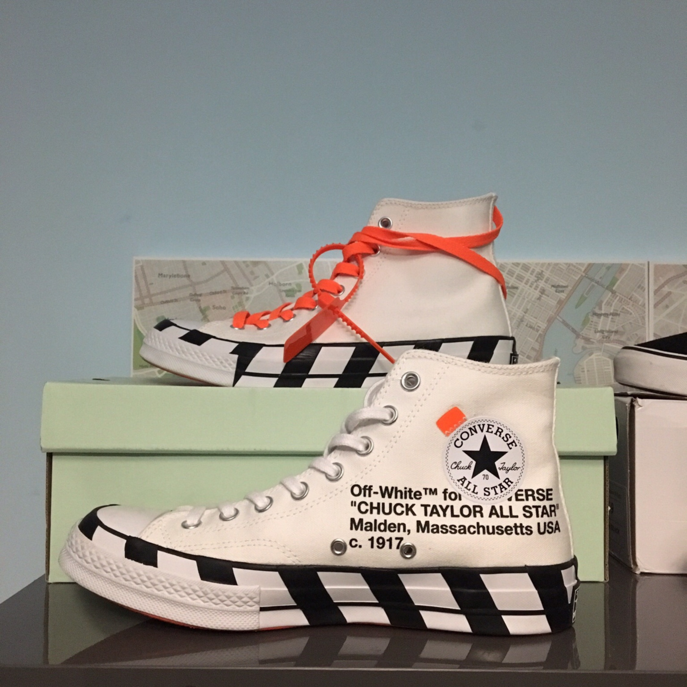 Off White Converse Chuck Taylor All