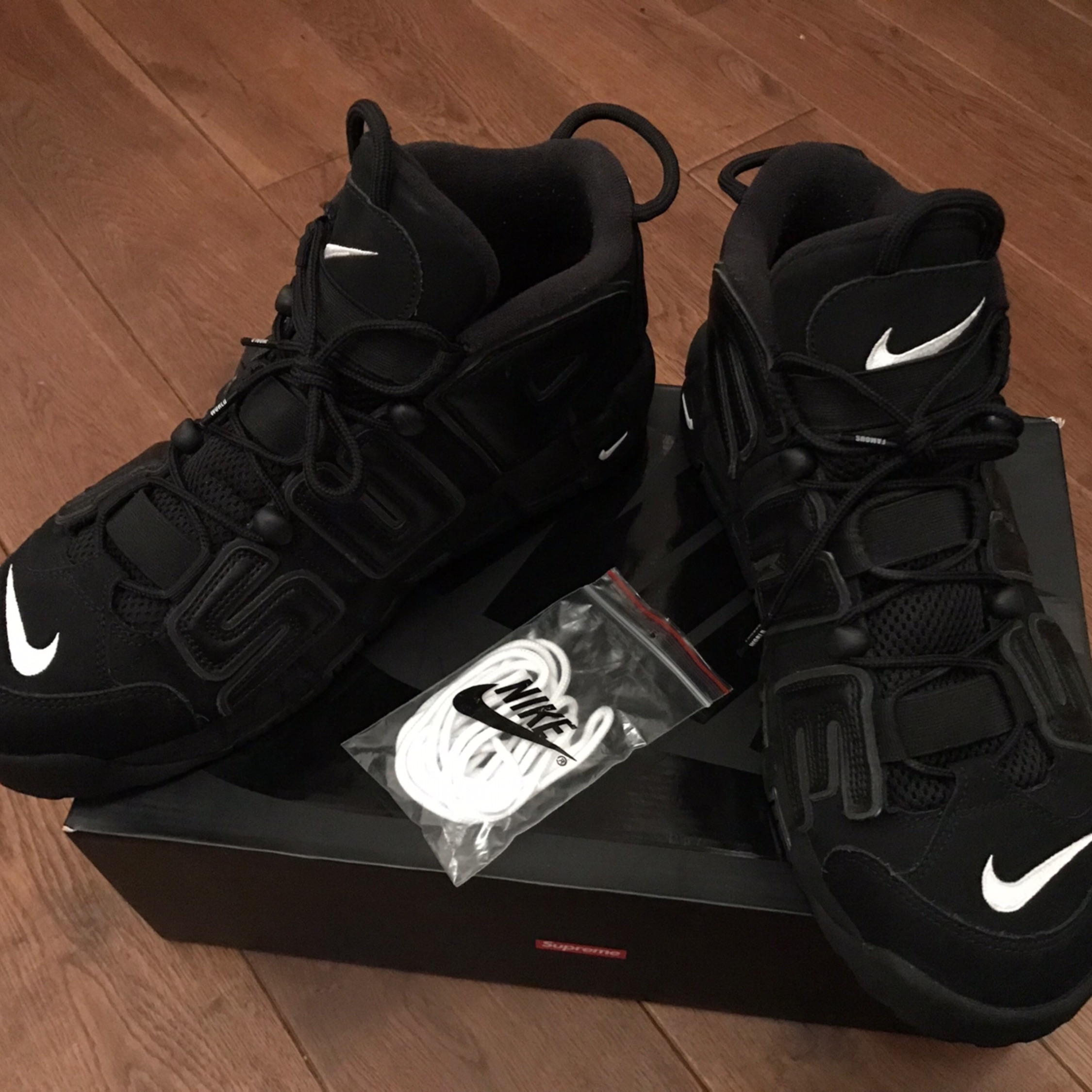 Ss17 Supreme X Nike Air More Uptempo