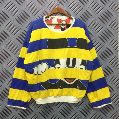 Vintage Mickey Mouse Reversible Sweatshirt