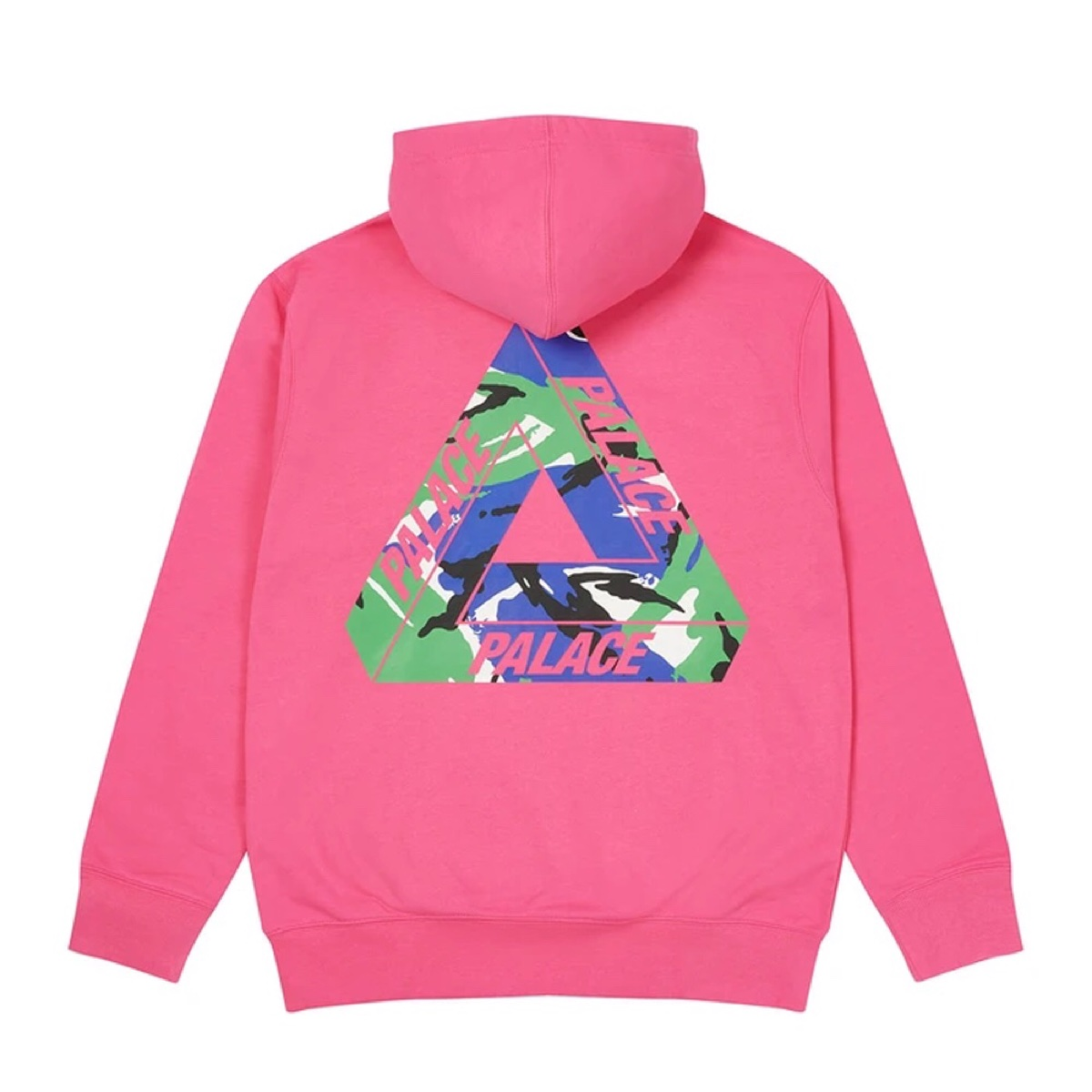 Palace Tri Camo Hood This Lockdown Pink