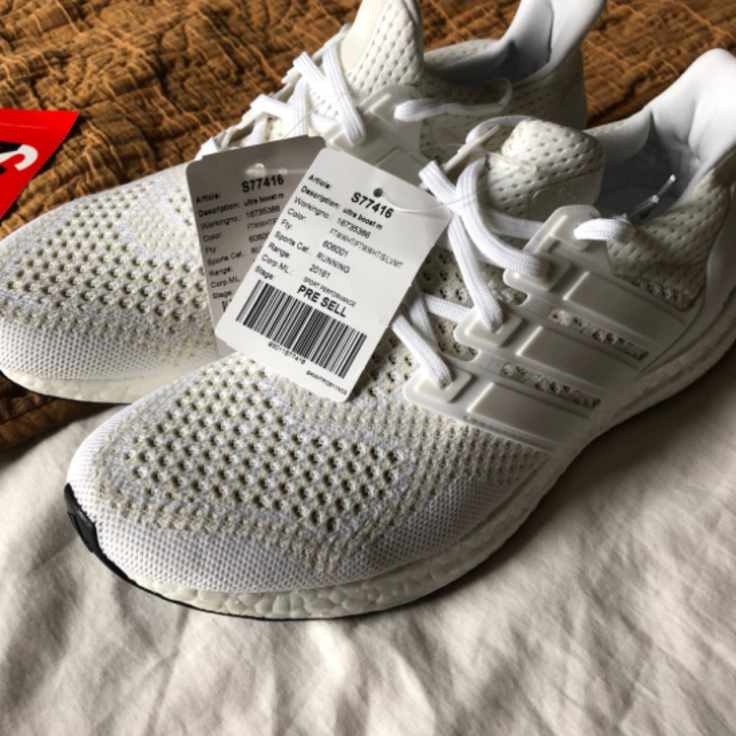 30f300c19a670 Adidas Triple White 1.0 Ultra Boost - Brand New