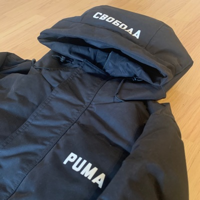Puma X Outlaw Moscow Feather Down Jacket Black