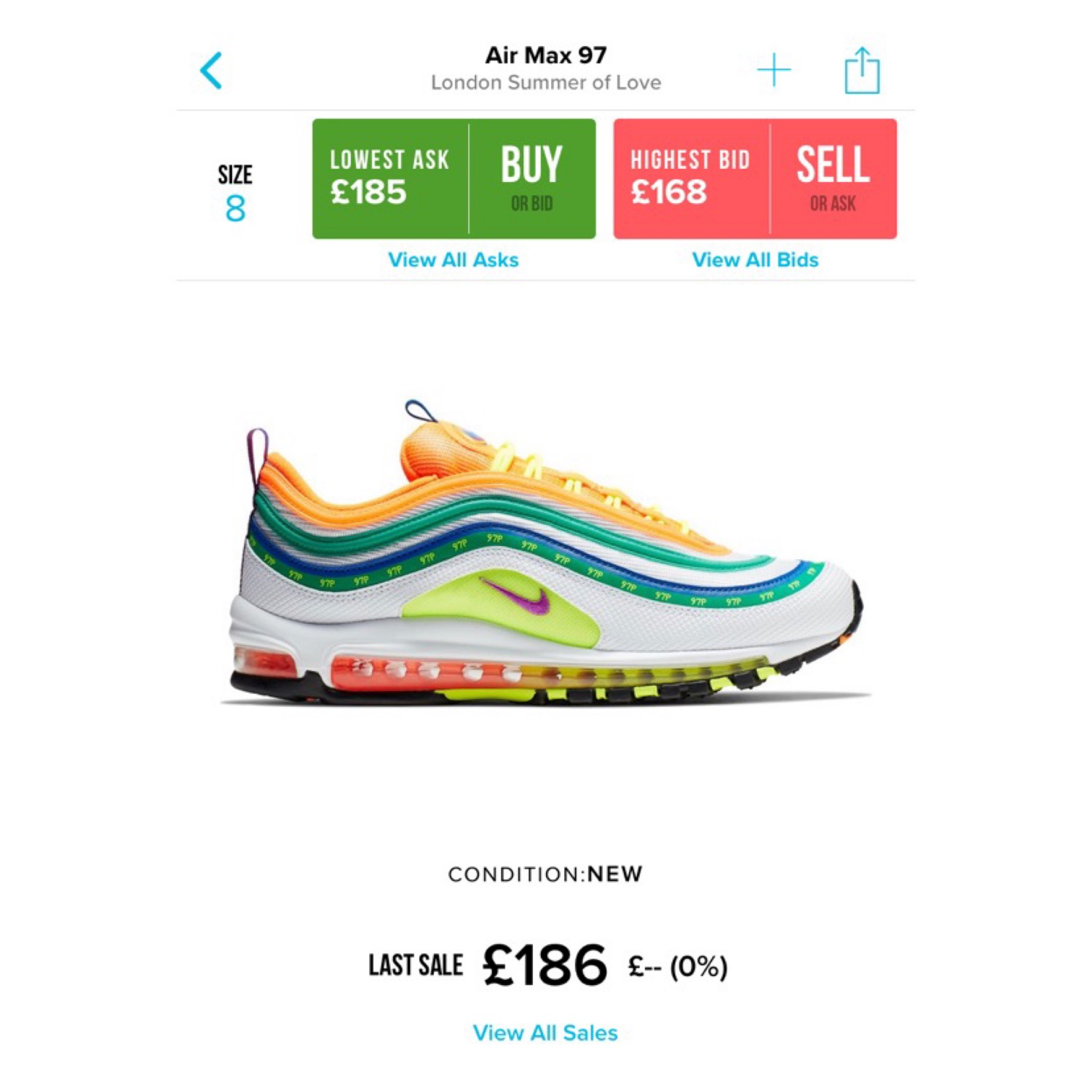 best loved e42fe 7ee9f Nike Air Max 97 - On Air Jasmine Lasode Shoe
